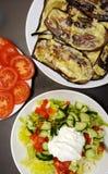 λαχανικά γευμάτων Στοκ φωτογραφία με δικαίωμα ελεύθερης χρήσης