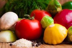 Λαχανικά για μια υγιεινή διατροφή Στοκ Εικόνες