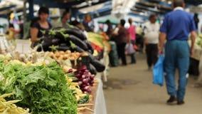 Λαχανικά για την πώληση απόθεμα βίντεο
