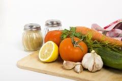 Λαχανικά για τη σαλάτα Στοκ φωτογραφίες με δικαίωμα ελεύθερης χρήσης