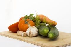 Λαχανικά για τη σαλάτα Στοκ Φωτογραφίες