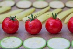 Λαχανικά για το ψήσιμο Στοκ φωτογραφία με δικαίωμα ελεύθερης χρήσης