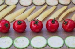 Λαχανικά για το ψήσιμο Στοκ φωτογραφίες με δικαίωμα ελεύθερης χρήσης