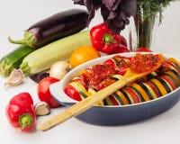 Λαχανικά για Ratatouille Στοκ Εικόνες