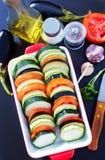 Λαχανικά για Ratatouille Στοκ Εικόνα