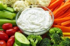λαχανικά εμβύθισης στοκ φωτογραφία με δικαίωμα ελεύθερης χρήσης