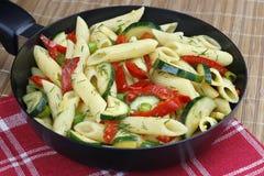 λαχανικά ζυμαρικών Στοκ Φωτογραφία