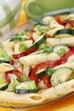 λαχανικά ζυμαρικών Στοκ Εικόνες