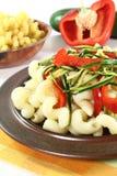 λαχανικά ζυμαρικών Στοκ φωτογραφίες με δικαίωμα ελεύθερης χρήσης
