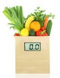 Λαχανικά και καρποί για το σιτηρέσιο Στοκ Εικόνα