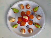 Λαχανικά και μαγειρική τέχνη Στοκ εικόνες με δικαίωμα ελεύθερης χρήσης