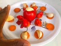 Λαχανικά και μαγειρική τέχνη Στοκ εικόνα με δικαίωμα ελεύθερης χρήσης