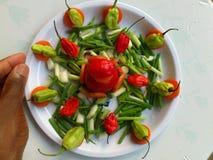 Λαχανικά και μαγειρική τέχνη Στοκ φωτογραφίες με δικαίωμα ελεύθερης χρήσης