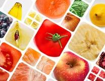 Λαχανικά και μούρα φρούτων Στοκ Εικόνες