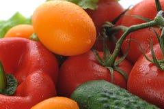 λαχανικά καλαθιών Στοκ Φωτογραφία