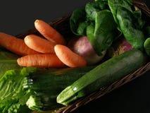 λαχανικά καλαθιών Στοκ Εικόνα