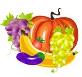 λαχανικά καρπών ελεύθερη απεικόνιση δικαιώματος