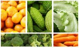 λαχανικά καρπών Στοκ εικόνα με δικαίωμα ελεύθερης χρήσης