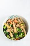 λαχανικά καφετιού ρυζι&omicron Στοκ εικόνες με δικαίωμα ελεύθερης χρήσης