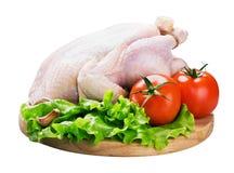 λαχανικά κοτόπουλου Στοκ εικόνες με δικαίωμα ελεύθερης χρήσης
