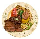 λαχανικά κρέατος Στοκ Εικόνα