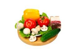 λαχανικά μπέϊκον Στοκ Φωτογραφίες