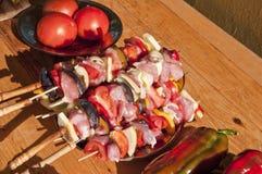 λαχανικά οβελιδίων Στοκ φωτογραφία με δικαίωμα ελεύθερης χρήσης