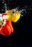Λαχανικά παφλασμών Στοκ εικόνα με δικαίωμα ελεύθερης χρήσης