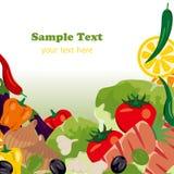 λαχανικά πλαισίων απεικόνιση αποθεμάτων