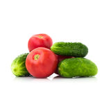 Λαχανικά, που απομονώνονται φρέσκα Στοκ φωτογραφίες με δικαίωμα ελεύθερης χρήσης