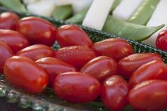 Λαχανικά που εξυπηρετούνται ως horderves πριν από το γεύμα Στοκ φωτογραφίες με δικαίωμα ελεύθερης χρήσης