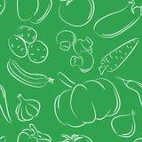 λαχανικά προτύπων διανυσματική απεικόνιση