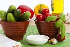 λαχανικά πρόχειρων φαγητών στοκ εικόνες