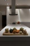 Λαχανικά πτώσης στην κουζίνα Στοκ φωτογραφία με δικαίωμα ελεύθερης χρήσης