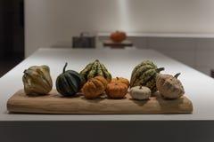 Λαχανικά πτώσης στην κουζίνα Στοκ Εικόνες