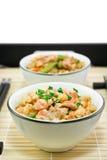 λαχανικά ρυζιού ψαριών Στοκ εικόνες με δικαίωμα ελεύθερης χρήσης
