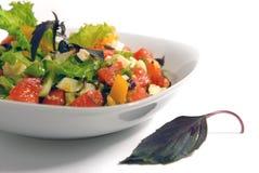 λαχανικά σαλάτας τυριών Στοκ εικόνα με δικαίωμα ελεύθερης χρήσης