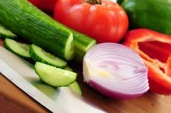 λαχανικά σαλάτας Στοκ εικόνες με δικαίωμα ελεύθερης χρήσης
