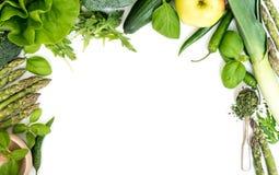 Λαχανικά σε ένα λευκό Στοκ Φωτογραφία