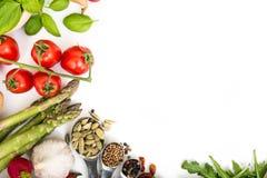 Λαχανικά σε ένα λευκό Στοκ φωτογραφία με δικαίωμα ελεύθερης χρήσης