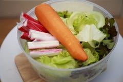 Λαχανικά σε ένα κύπελλο Στοκ φωτογραφία με δικαίωμα ελεύθερης χρήσης