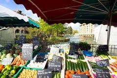 Λαχανικά σε μια αγορά Στοκ Φωτογραφία