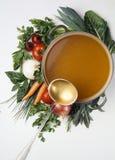 λαχανικά σούπας Στοκ Εικόνες