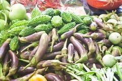 Λαχανικά στην αγορά Στοκ Φωτογραφίες