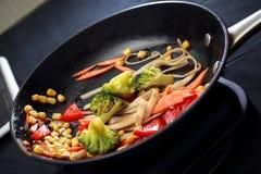 Λαχανικά στην πανοραμική λήψη Στοκ εικόνα με δικαίωμα ελεύθερης χρήσης