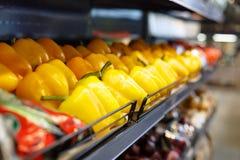 Λαχανικά στην υπεραγορά Στοκ φωτογραφίες με δικαίωμα ελεύθερης χρήσης