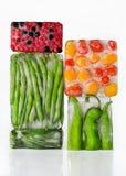 Λαχανικά στον πάγο Στοκ εικόνα με δικαίωμα ελεύθερης χρήσης