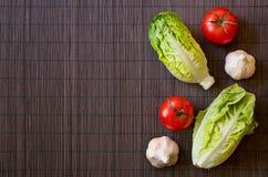 Λαχανικά στον πίνακα στοκ φωτογραφία με δικαίωμα ελεύθερης χρήσης