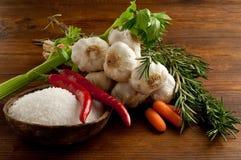 λαχανικά συστατικών Στοκ Εικόνες