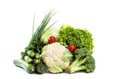 Λαχανικά συλλογής που απομονώνονται σε ένα άσπρο υπόβαθρο Στοκ φωτογραφίες με δικαίωμα ελεύθερης χρήσης